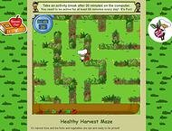 harvest maze